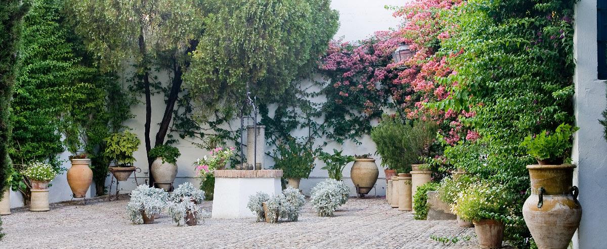 Fuentes patio beautiful resultado de imagem para casas - Fuentes de patio ...